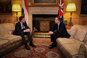 Mark Rutte and David Cameron / Photo: Rijksvoorlichtingdienst