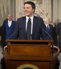 Italian Prime Minister Matteo Renzi (Photo: Presidenza della Repubblica, via Wikimedia Commons)